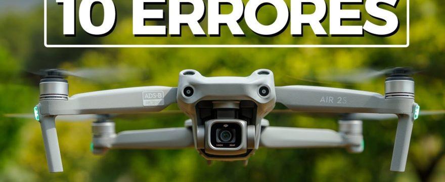233. DJI Air 2S 🚁 10 ERRORES que debemos evitar 🤓